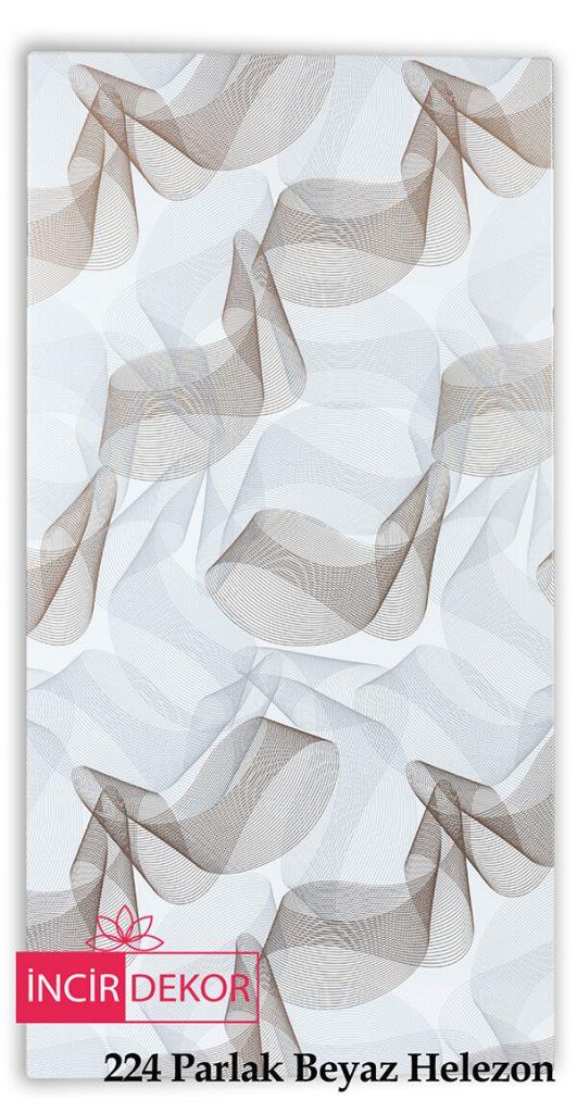 224 Parlak Beyaz Helezon
