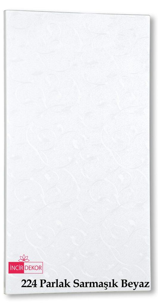 224 Parlak Sarmaşık Beyaz