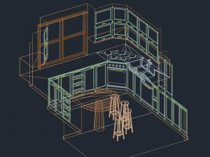 Lavabo 3d Dwg.Kitchen Cad Blocks Kitchen Autocad Free Incir Dekor