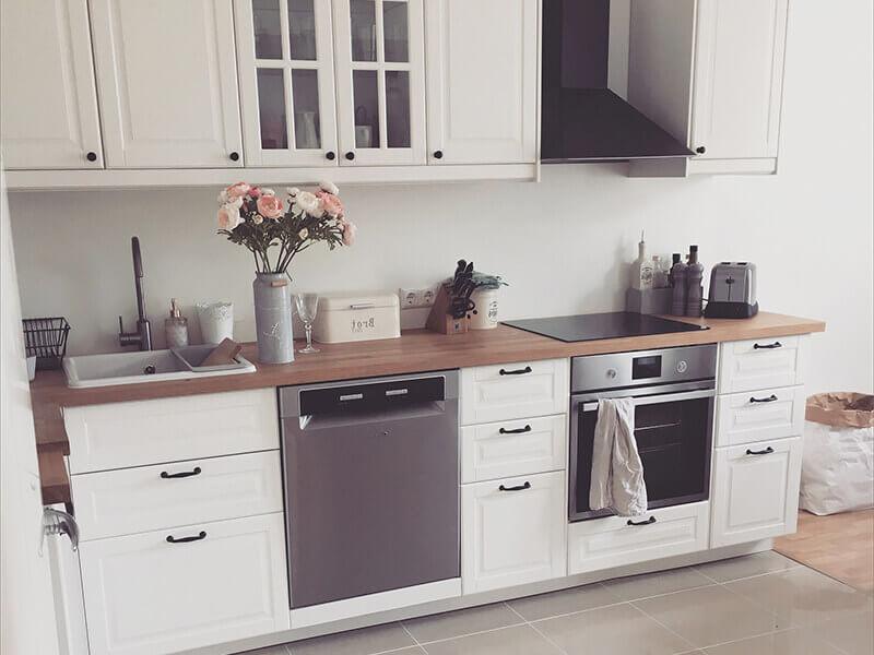 Akbük Membran Mutfak Dolabı Modeli
