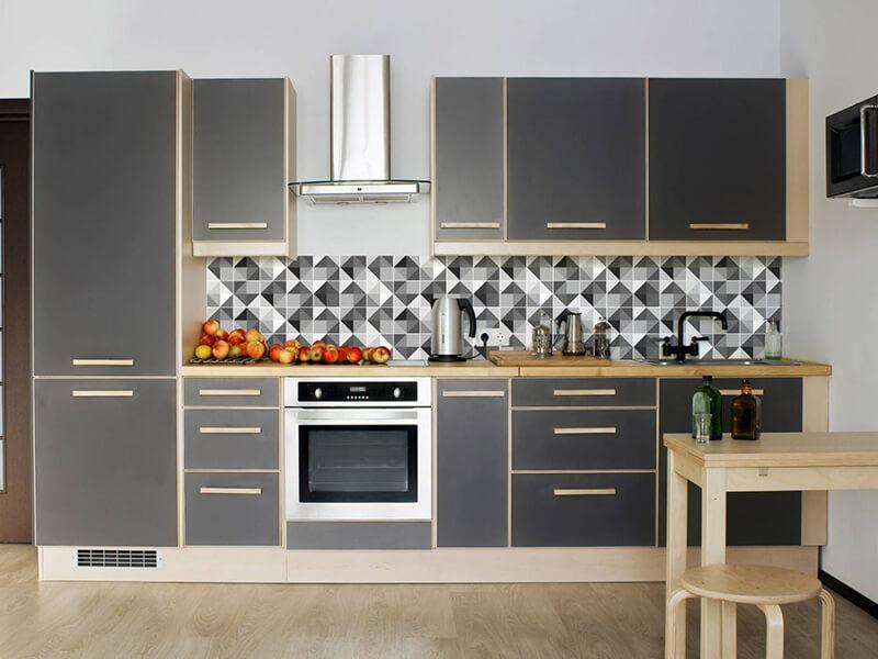 Apollon Akrilik Mutfak Dolabı Modeli