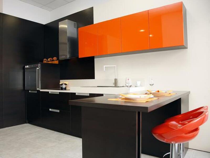 Bozdoğan High Gloss Mutfak Dolabı Modeli