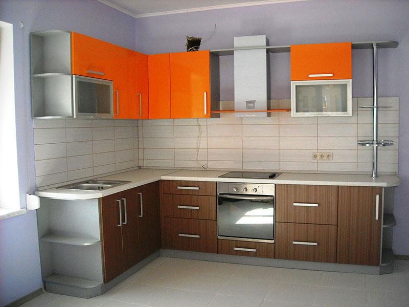 Buharkent Akrilik Mutfak Dolabı Modeli