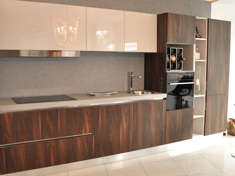 Güzelçamlı High Gloss Mutfak Dolabı Modeli