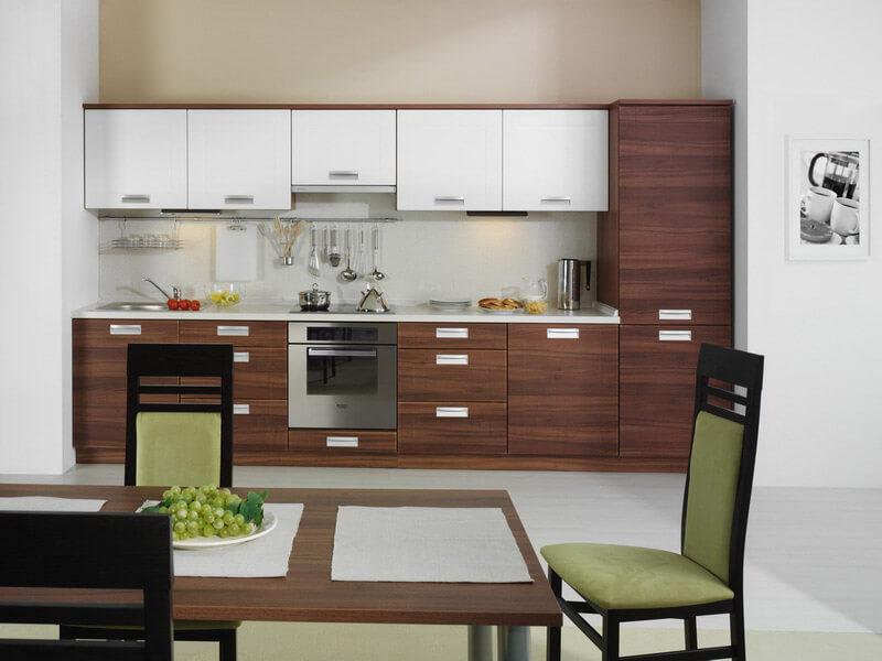 Köşk Akrilik Mutfak Dolabı Modeli