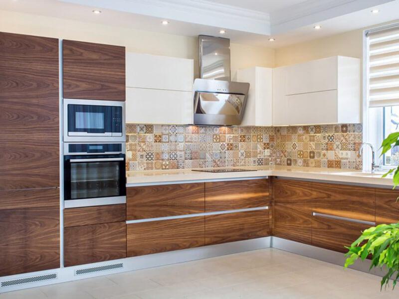 Kuşadası Akrilik Mutfak Dolabı Modeli