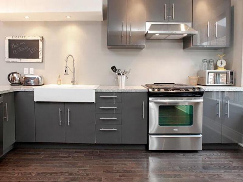 Kuyucak High Gloss Mutfak Dolabı Modeli