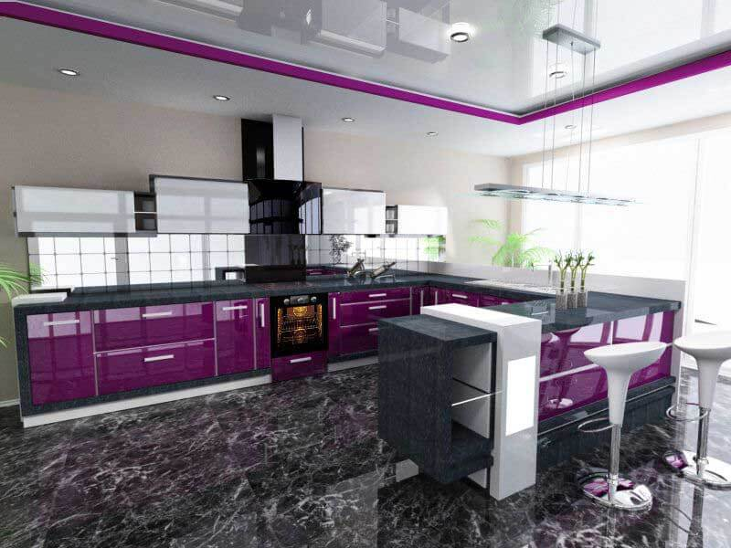 Madran High Gloss Mutfak Dolabı Modeli