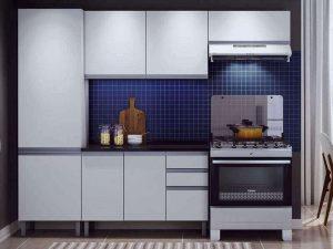 Nazilli Akrilik Mutfak Dolabı Modeli
