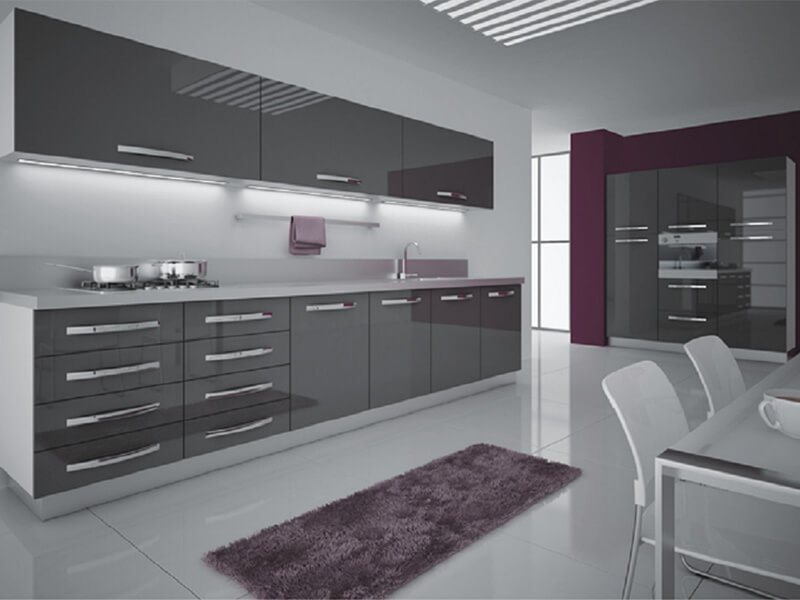 Söke High Gloss Mutfak Dolabı Modeli