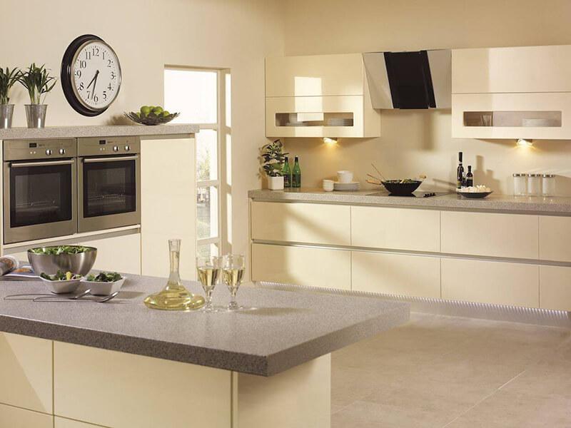 Aydın Akrilik Mutfak Dolabı Modeli