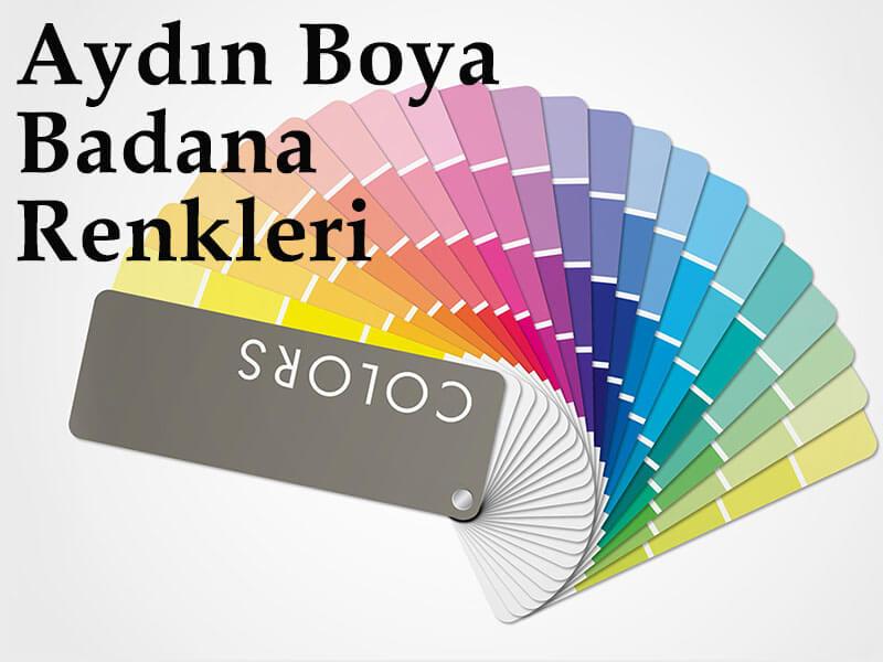 aydın boya renkleri