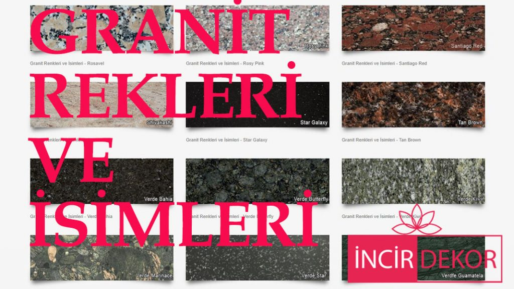 Graniit renk kataloğu