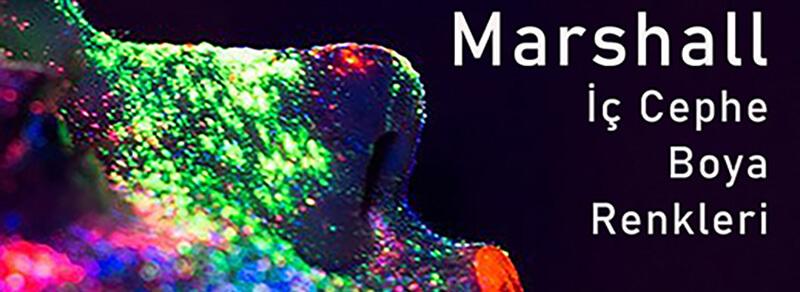 marshall iç cephe renk kartelası