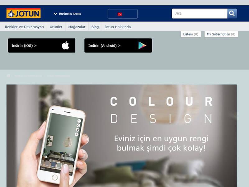 jotun colour design