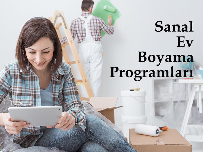 Sanal Ev Boyama Programları