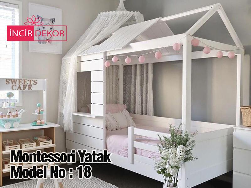 Montessori Yatak İzmir Model No:18
