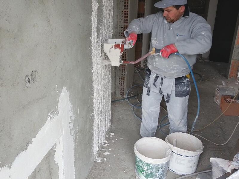 Çimento Esaslı ve Alçı Sıva Yapılması