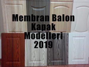 membran balon kapak modelleri 2019
