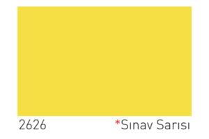 Dyo Sınav Sarısı Rengi