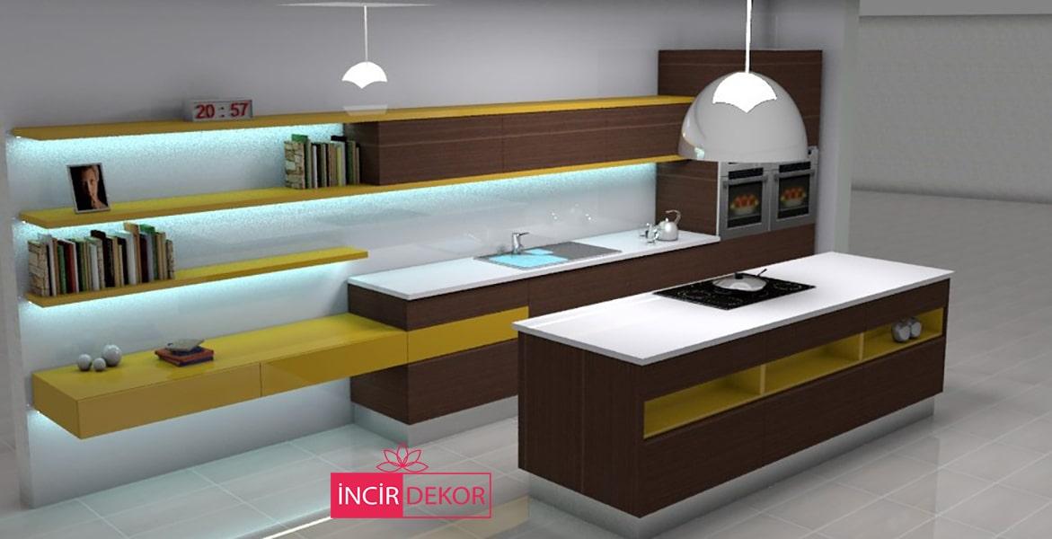 Mutfak Çizimi Mutfak Tasarımı Örneği