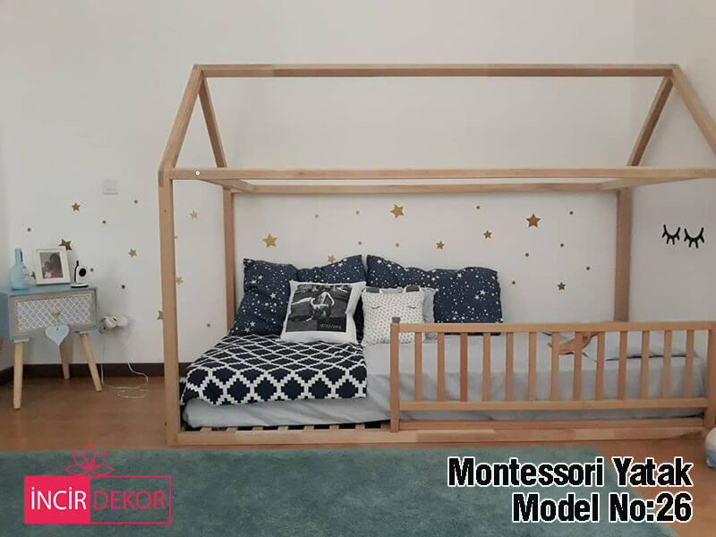 Montessori Yatak İzmir Model No:26