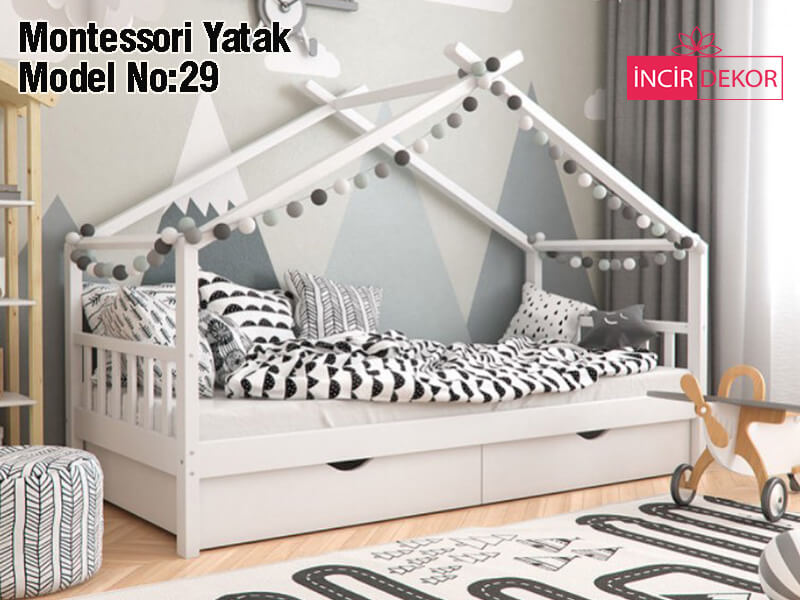 Montessori Yatak İzmir Model No:29