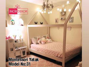 Montessori Yatak İzmir Model No:31