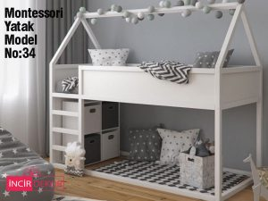 Montessori Yatak İzmir Model No:34