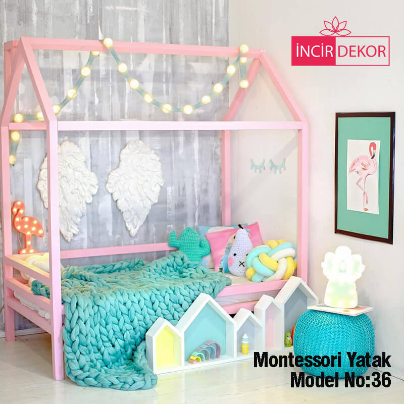 Montessori Yatak İzmir Model No:36
