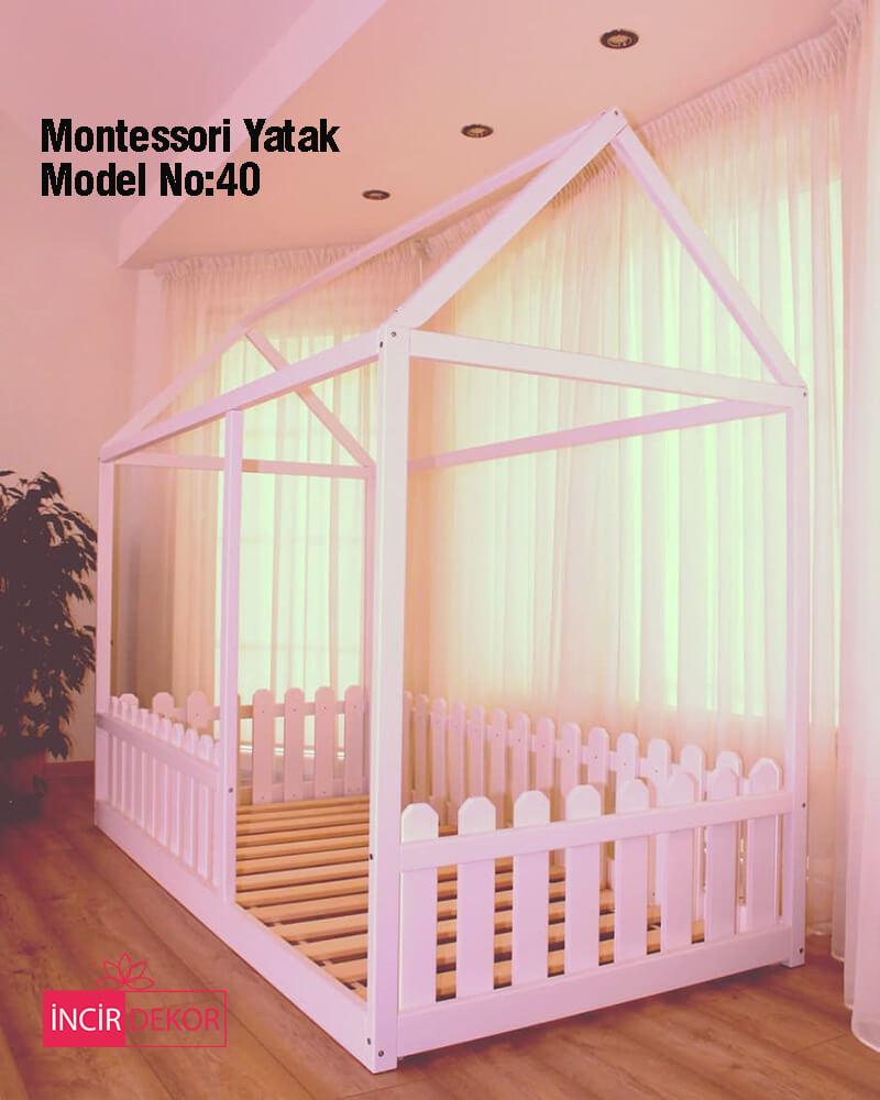 Montessori Yatak İzmir Model No:40