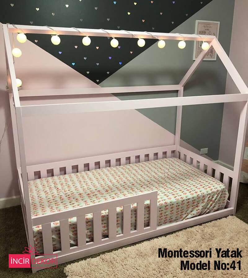 Montessori Yatak İzmir Model No:41