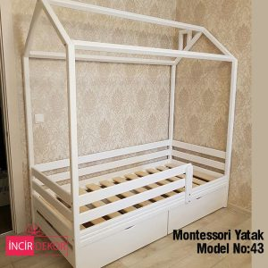 Montessori Yatak İzmir Model No:43