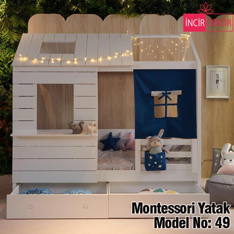 Montessori Yatak İzmir Model No:49