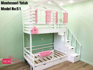 Montessori Yatak İzmir Model No:51