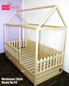 Montessori Yatak İzmir Model No:55