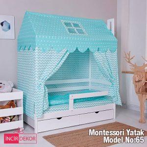Montessori Yatak İzmir Model No:65