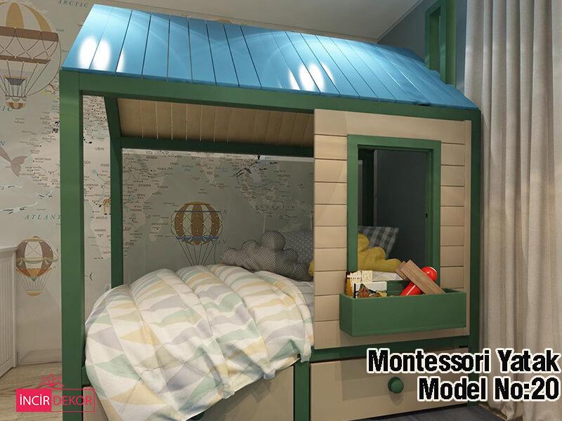 Montessori Yatak Aydın Modelleri