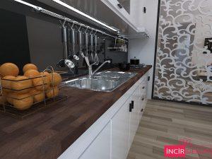 Ahşap Mutfak Tezgahı Örnekleri