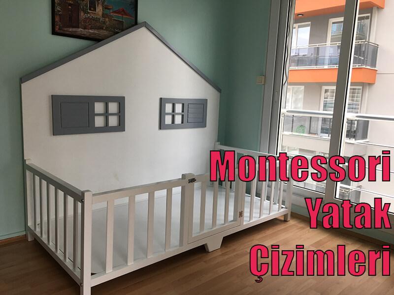Montessori Yatak Çizimi