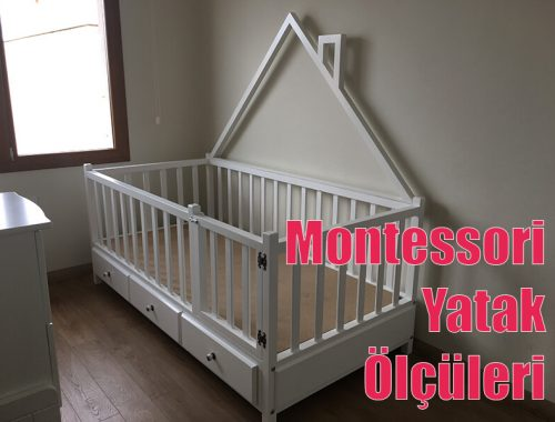 Montessori Yatak Ölçüleri