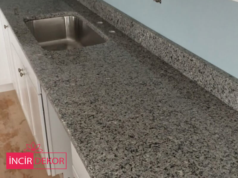 Granit Tezgah Modelleri Azul Platino