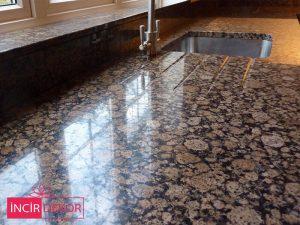 Granit Tezgah Modelleri Baltic Brown