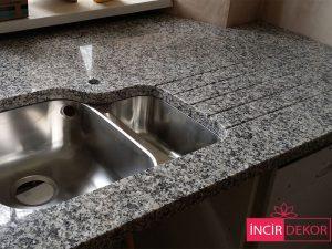 Granit Tezgah Modelleri Bianco Sardo