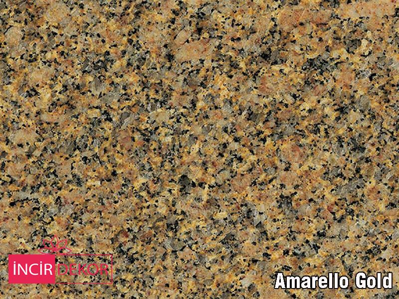 Granit Tezgah Renkleri Amarello Gold