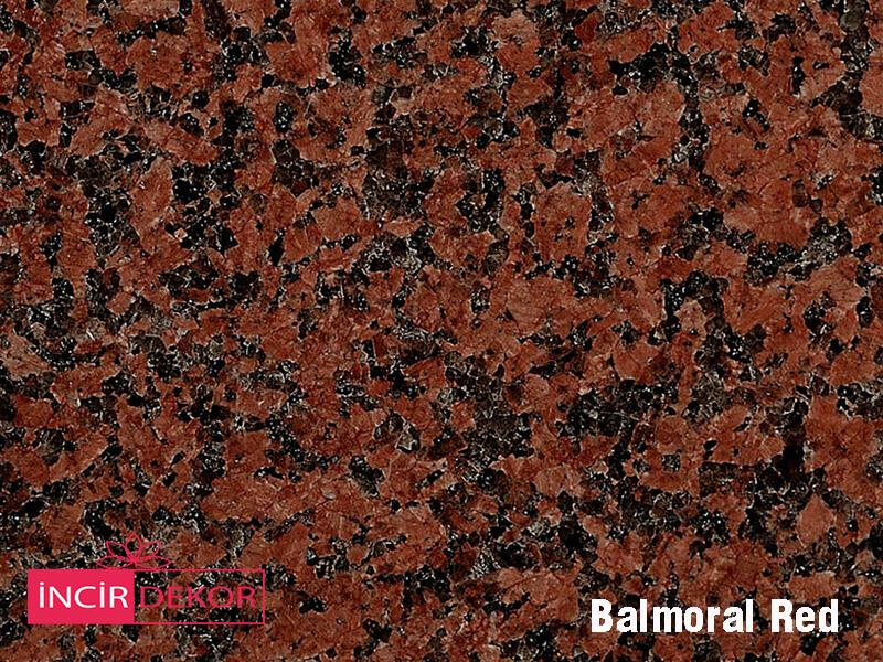 Granit Tezgah Renkleri Balmoral Red