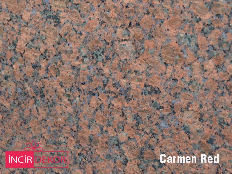 Granit Tezgah Renkleri Carmen Red