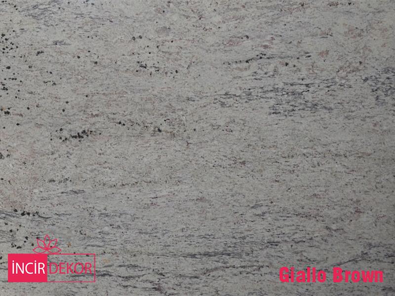 Granit Tezgah Renkleri Giallo Brown