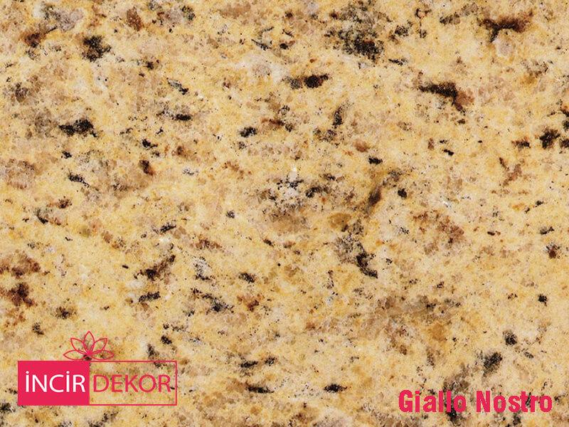 Granit Tezgah Renkleri Giallo Nostro