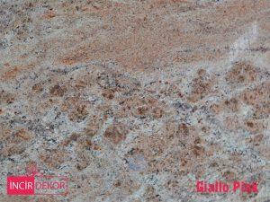 Granit Tezgah Renkleri Giallo Pink